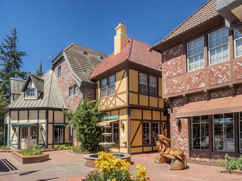 Danish town of Solvang in California