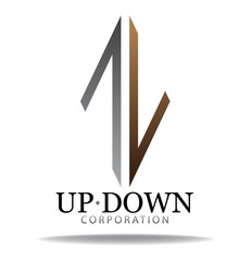 up down logo
