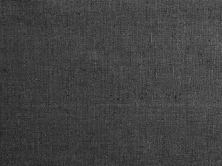 Black fabric texture and background