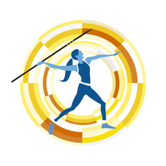 Woman Figure Throwing the Javelin