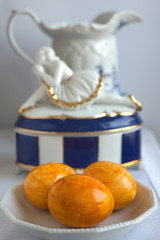 Ostereier, orange