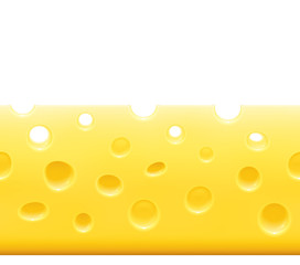 Cheese background - horizontally tile-able