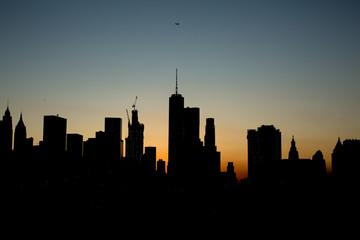 Manhattan shadow view