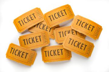Vintage ticket stubs
