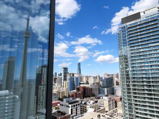 Toronto view of modern buildings 2016