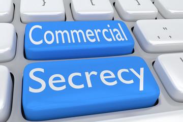 Commercial Secrecy concept