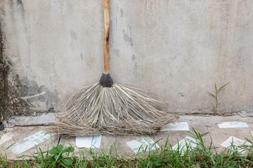 old imperata broom