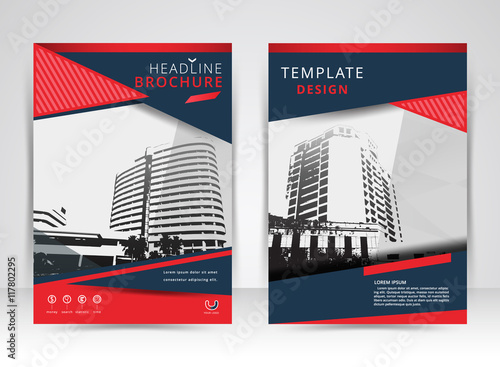 background leaflet design