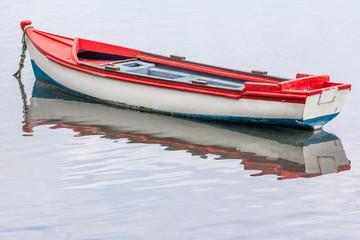barque de pêche tricolore, île de la Réunion