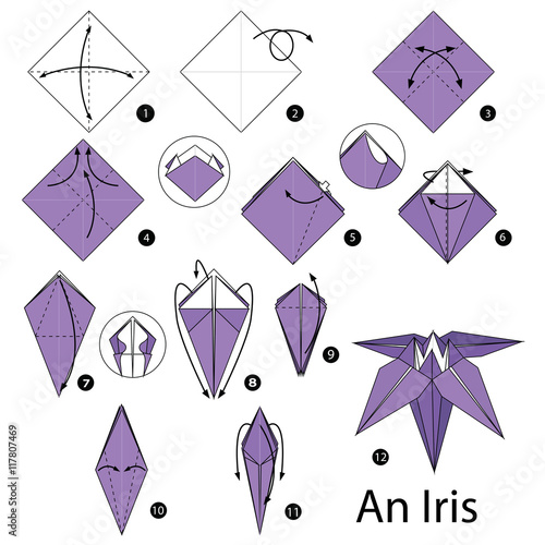 how to make an origami t shirt step by step