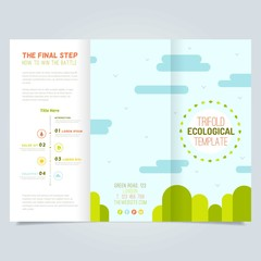 Trifold ecological template