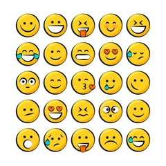 Yellow smiley pack