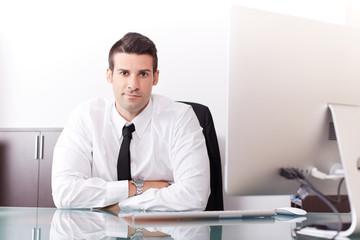 young modern businessman