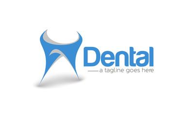 Branding Identity Corporate Dentist vector logo design