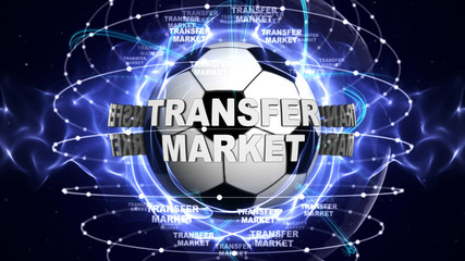 TRANSFER MARKET Text and Earth