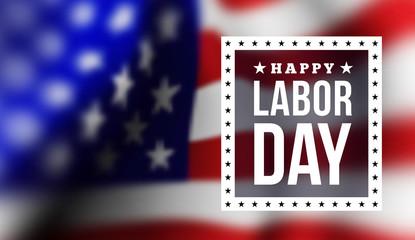 Happy labor day Fototapete