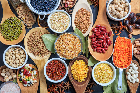Composition of various kinds of legumes