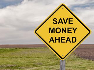 Caution - Save Money Ahead