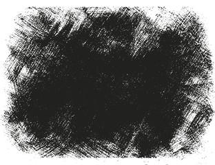 Grunge black banner. Vector illustration.