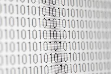 バイナリ 二進法 PCデータのイメージ