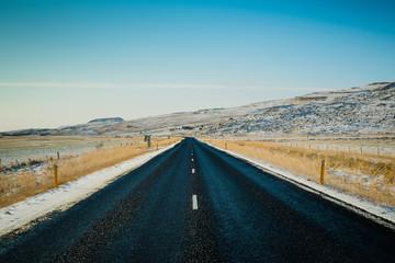 Landscape Iceland Road