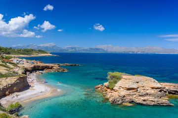 Fototapete - Playa S'Illot - beautiful beach close to Alcudia, Mallorca
