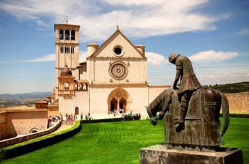 Printed kitchen splashbacks Monument Basilica San Francesco d'Assisi
