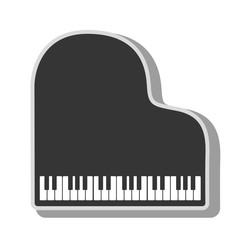 Music instrument icon vector illustration