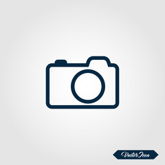 Camera icon for apps and websites