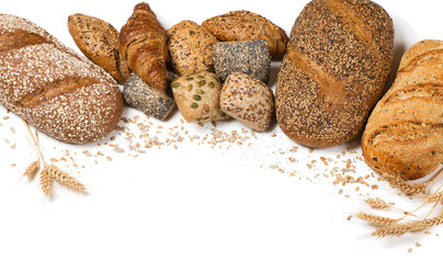 Assortment of different kind of bakery