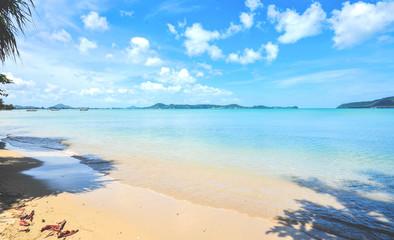 summer on the relax beach, Thailand