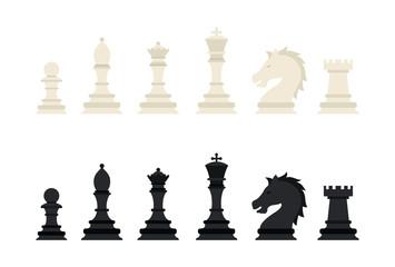 Black and white chess.
