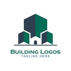 Design building apartment logo