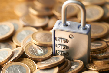 coins with lock