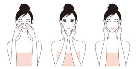 女性のスキンケア / 美容