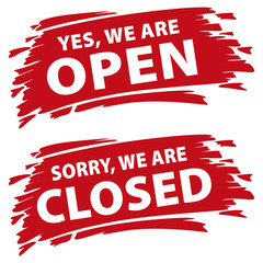 open or closed