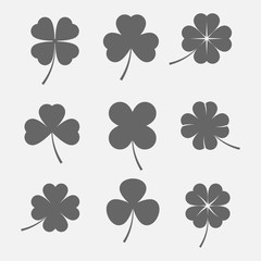Clover leaves icon