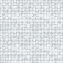 Abstract grayscale pixelated seamless pattern