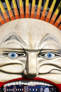 The colourful face of Luna Park