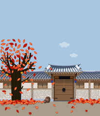 Traditional Korean style house B