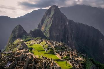Ancient inca town of Machu Picchu