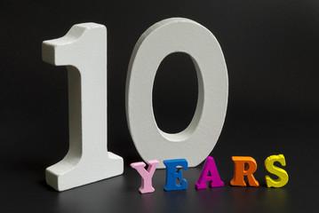 Ten years.