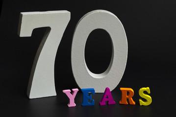 Seventy years.