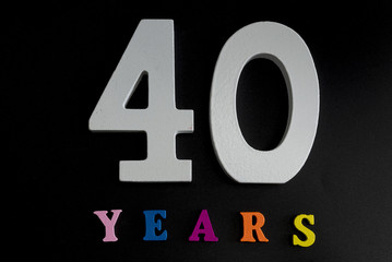Forty years.