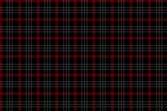 Plaid Pattern Scotish style with black background