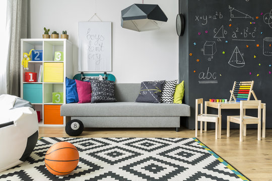 Perfect room for a schoolboy