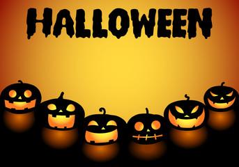 graphic halloween background, vector