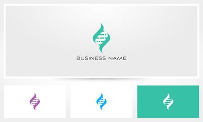Helix Digital DNA Genetic Logo