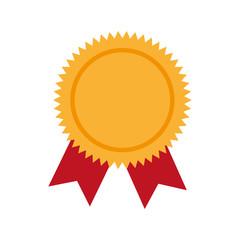 award ribbon winner vector graphic icon