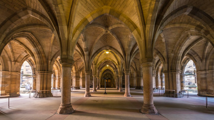 The University of Glasgow Cloisters
